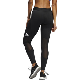 adidas Alphaskin Power Laser Performance Tights Damer, hvid/sort